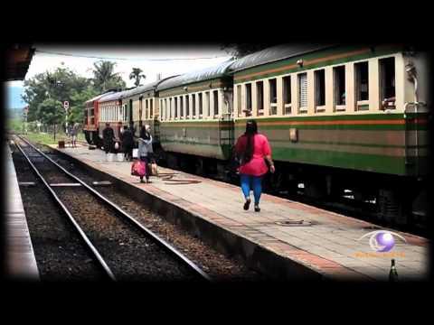 ข่าว รถไฟสายใต้จากสุไหงโก-ลก เปิดขบวนเดินรถวันแรกได้แล้ว