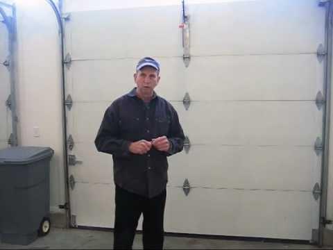 How To Adjust An Automatic Garage Door Opener Youtube