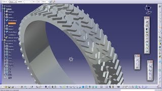 Catia V5 Tutorial|Automotive Engineering Design|How Create a Tyre(Easy Steps Beginners)|Part 2