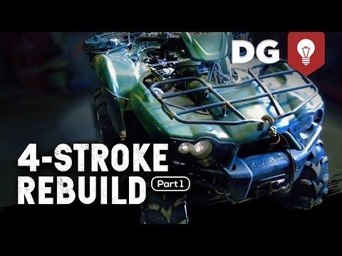 4-STROKE REBUILD: Kawasaki Brute Force (Part 1)