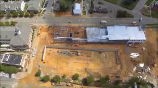 Holly Springs Town Hall Commons Progress (9-11-18)