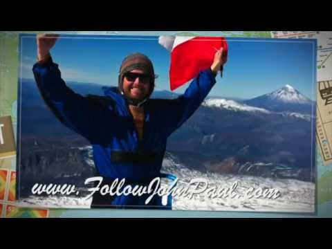 "Climbing the ""Lively"" Volcan Villarrica in Chile"