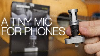 shure motiv mv88 iphone microphone review