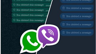 How to read deleted sms on whatsapp/viber