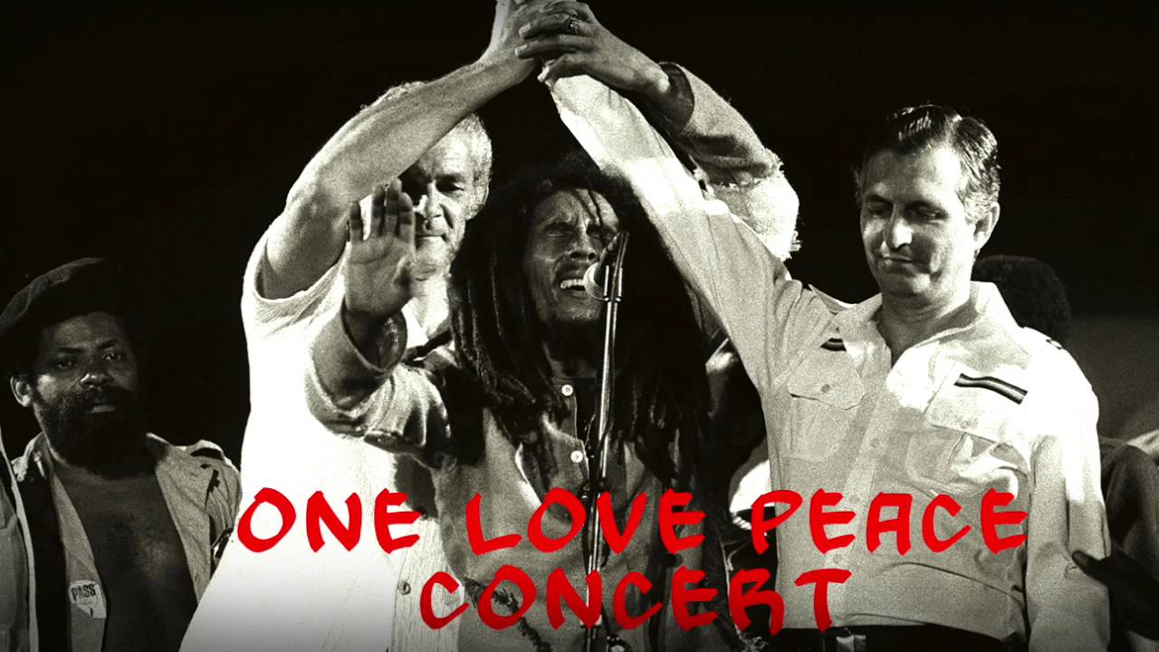 Image result for one love peace concert