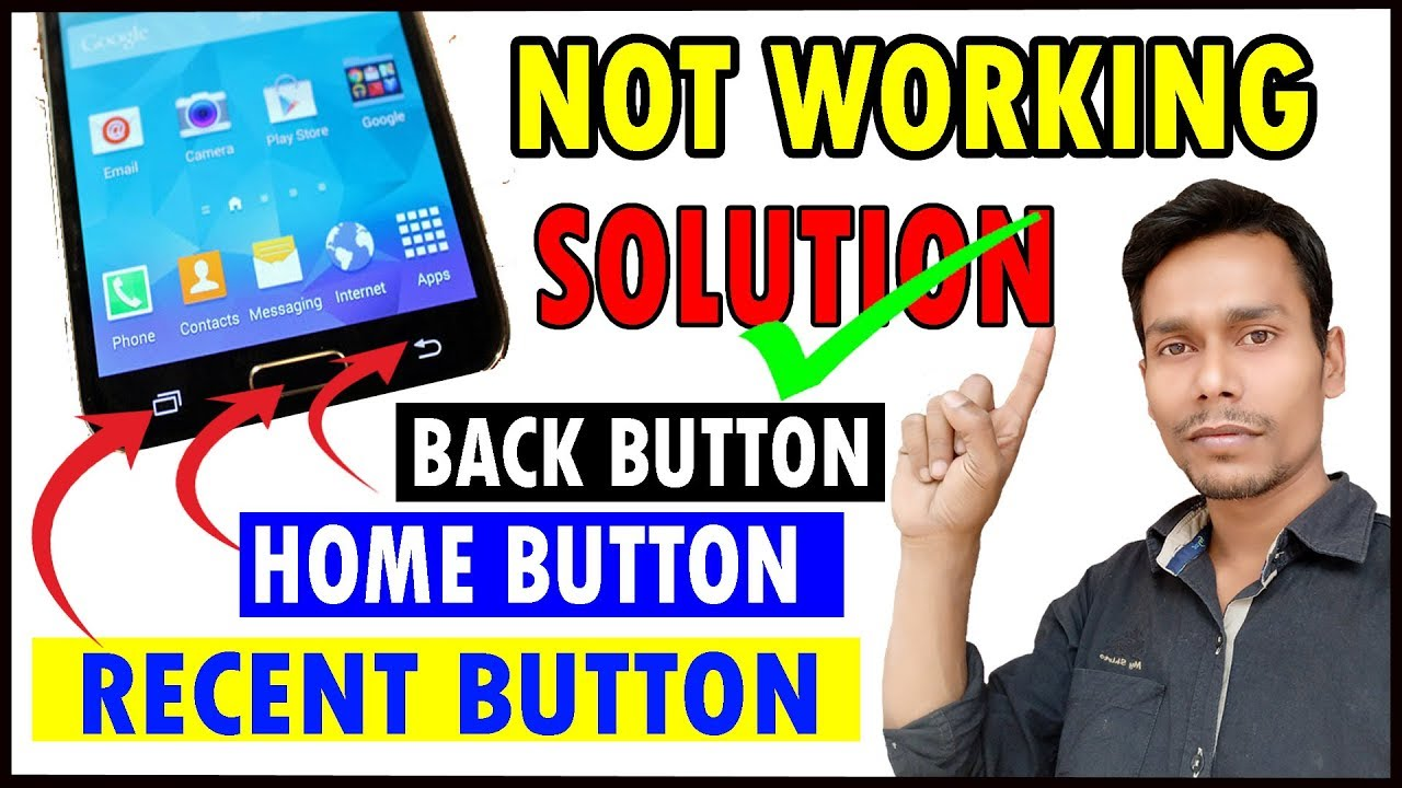 Now you fixed (home/back/recent) button ! When not working an Android  Mobile !