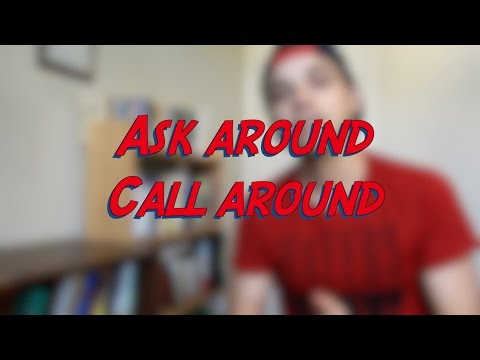 Ask around - Call around - W19D3 - Daily Phrasal Verbs - Learn English online free video lessons