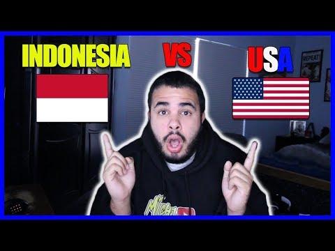 Indonesia Vs USA Review | Michael Cordero