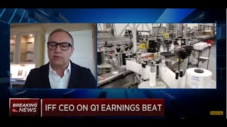 CNBC Squawk on the Street: Andreas Fibig, CEO