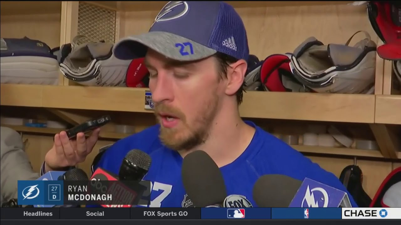 7a9001b6a Ryan McDonagh -- Tampa Bay Lightning vs. Boston Bruins Game 5 05 06 2018