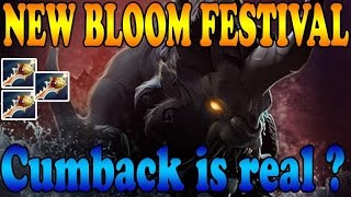 Dota 2 - New Bloom Festival Cumback with MegaCreeps is REAL ( ͡° ͜ʖ ͡°) ? EPIC GAME ! #22