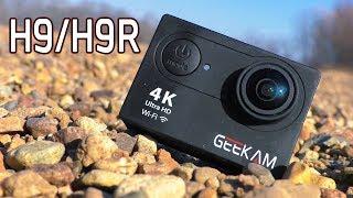 Geekam H9/H9r. Ловим рыбу на экшн камеру с aliexpress. Конкурс.