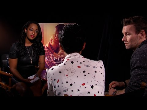"""Interview with Joel Edgerton and Ruth Negga, stars of the film """"Loving"""" at TIFF 2016"""
