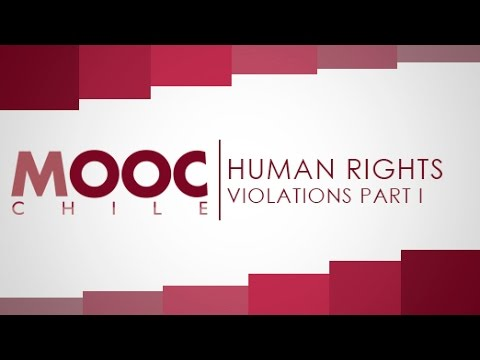 """Introduction to Human Rights   Lesson 13: """"Human Rights Violations I"""""""