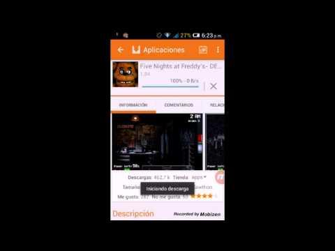 Como descargar Five nights at freddy's gratis para android(en español) link de en la descripción