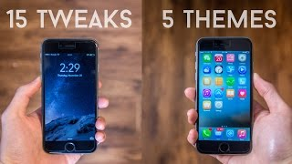 Top 20 Cydia Tweaks/Themes for iOS 8 (iPhone 6 Compatible)