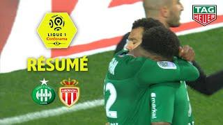 AS Saint-Etienne - AS Monaco ( 1-0 ) - Résumé - (ASSE - ASM) / 2019-20