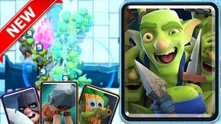 NEW GOBLIN GANG DECK | Clash Royale | New Arena & Cards, Executioner, Dart Goblin, and MORE