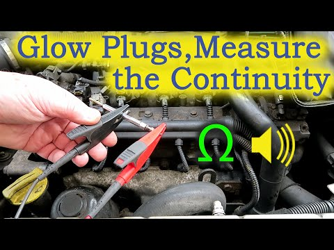 How to Test Glow Plugs - Measure the Continuity