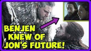 Benjen Stark Secretly Knew He Had To Bring Jon To The Wall! 🔮 HUGE THEORY! ⚔️