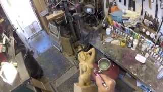 How To Lacquer-finish Small Wood Carvings, By Darryl Easter