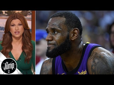 LeBron James' groin injury shows why Lakers must win soon - Rachel Nichols | The Jump