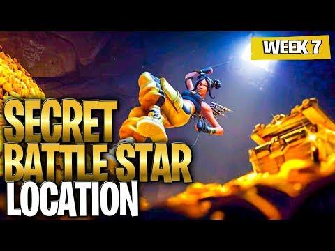 SECRET BATTLE STAR WEEK 7 SEASON 8 LOCATION! (Week 7 Hidden Battlestar ACTUAL Location)