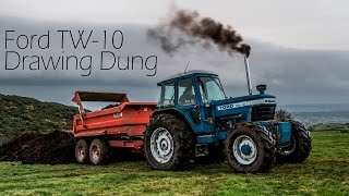 Ford TW-10 - Drawing Sheep Dung - With Sound