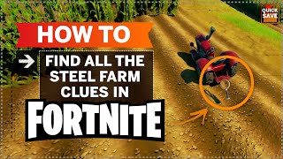 Fortnite Farm Clues - Where To Search For Clues