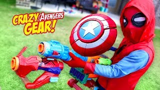 AVENGERS Infinity War Movie NERF Gear Test & Toys Review by KIDCITY
