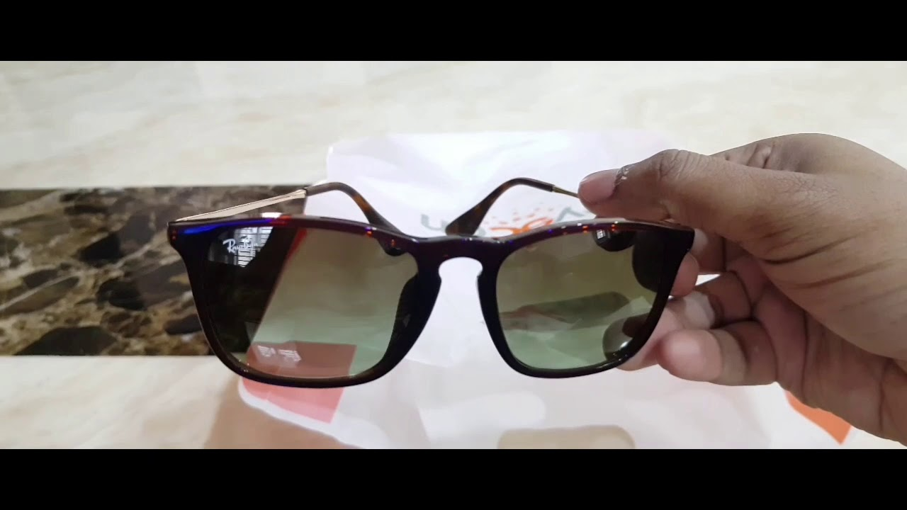 3cf6becd7c3 Unboxing Ray Ban Chris (RB4817) - YouTube