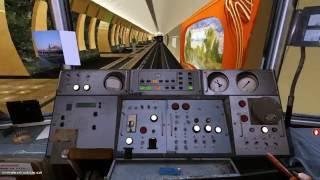 Метрополитен .Trainz Simulator 2012  Марьина Роща-до Зябликово.