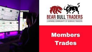 [BBT Members Day Trading Recap] Robert Trade of $INTC and $NFLX   Jul 17 2018