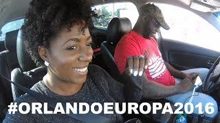 Vlog| How I Stay on Track with my Weightloss Goals in Florida| #orlandoeuropa2016