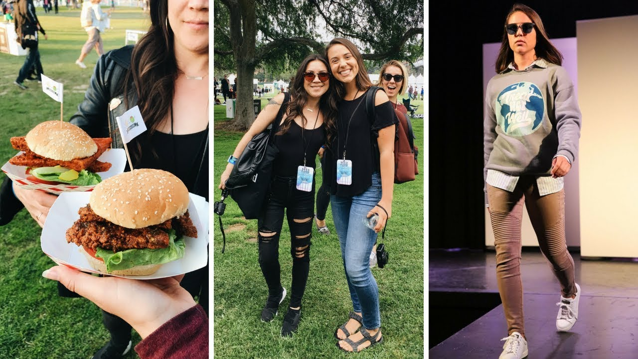 Eat Drink Vegan + I was in a Fashion Show?! (LA Vlog)