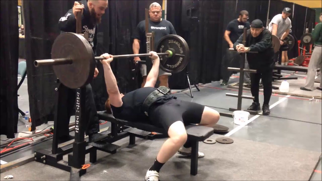 IPL-USPA Midwest Open Bench Only Meet 336 2lb/152 5kg Bench