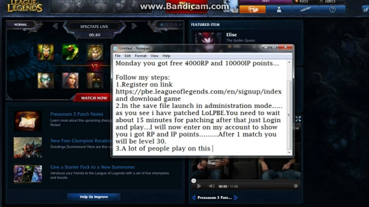 How to download League of Legends PBE - YouTube