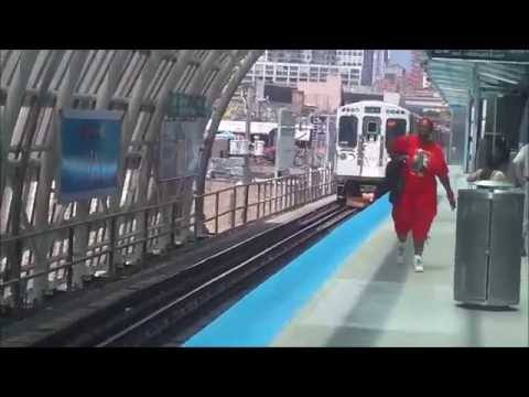 CTA Cermak Road (22nd Street)-McCormick Place (Green Line) station (05-29-16)