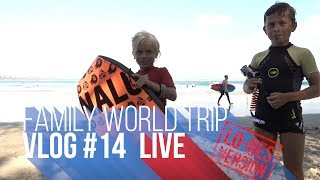 FAMILY WORLD TRIP VLOG#14 | LIVE LO-RES Byron Bay