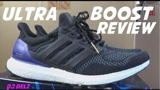 adidas ultra boost shoe detailed real review on feet look with djdelz
