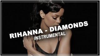 Rihanna - Diamonds - Piano acoustic instrumental / Karaoke / Lyrics