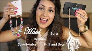 haul bershka stradivarius zara pull and bear