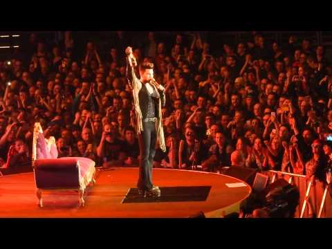 Queen + Adam Lambert - Killer Queen, I Want To Break Free - Tauron Arena Krakow 02/21/2015