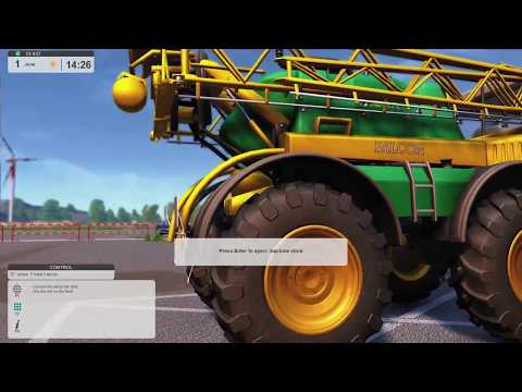 Farm Expert 2017 - June 1st years 6 - planting the summer wheat