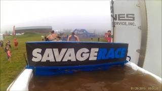 Savage Race PA 2017 (All Obstacles)