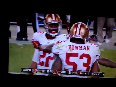 """Dashon Goldson blows up Early Doucet MNF """"Grown Man Hit"""""""