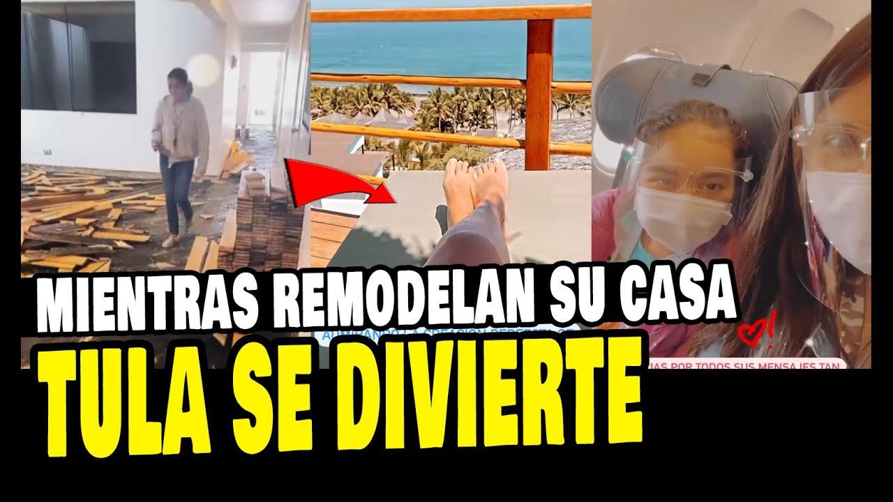 Tula Rodriguez Se Divierte En Lujosa Casa De Playa Tras Mientras Remodelan Youtube