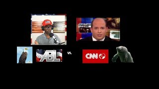 😲🔴 CNN's @brianstelter talks to ABL about media, minorities, manatees and LAYOFFS🔴😲