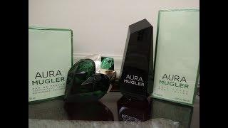 Resenha de Aura Mugler EDP e do Creme Hidratante Perfumado Aura Mug...