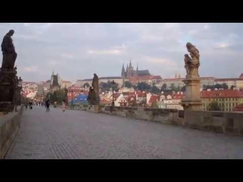 Returning to Cafe Slavia Praha September 19th, 2014